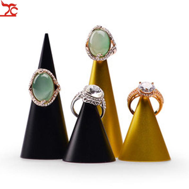 Creative Conical Ring Display Bracket Stainless Steel Ring Jewelry Hand Jewelry Display Rack Storage Rack Display Rack