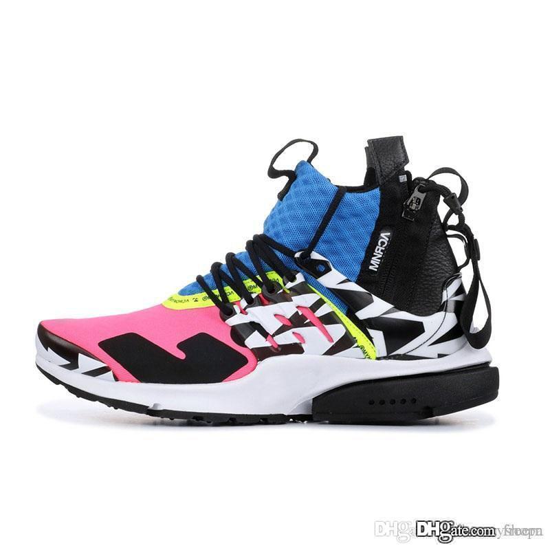 NPSTHF 2019 New Prestos V2 Ultra BR TP QS 2.0 Black White X Running Shoes Sports Women Air Men Prestoss Running Shoes