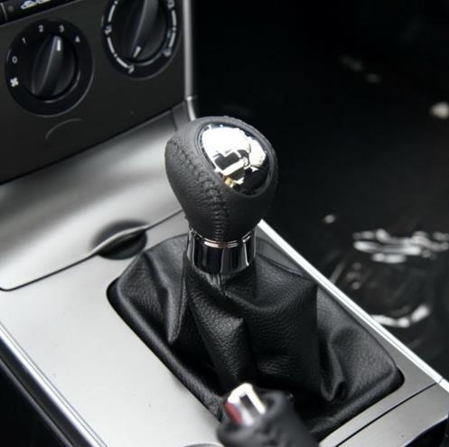 Per 6 M6 caso della copertura di avvio della penna Ghetta 2002-2007 Manuale Chrome auto che designa gli accessori della manopola del cambio Leva Stick