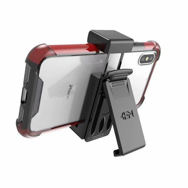 Universeller Holster mit Gürtelclip drehen Ständer passend für iPhone X XR XS MAX 7 8 Plus Samsung Anmerkung 9 S9 Kleinpaket