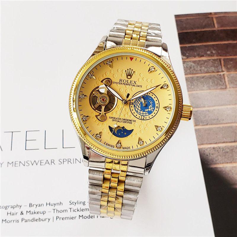 op Luxus Keramik Lünette Herren Mechanische Edelstahl automatische Bewegung Uhr Sport Selbst wind Uhren designer Uhren Armbanduhr