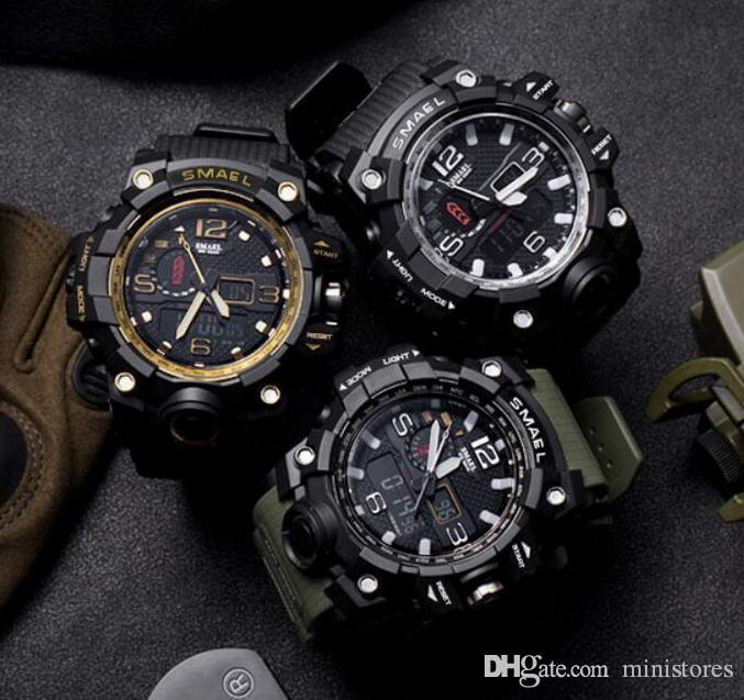 Neue Mode-Digital-Uhr-Frauen-Militär Designer-Uhr wasserdicht Kalender Sport Armbanduhr relogio masculino