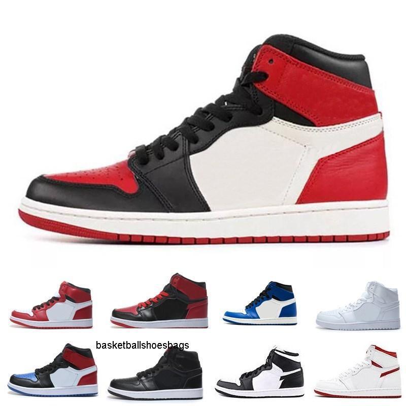 Yılın 1s Mahkemesi Mor Çam Yeşil Basketbol Ayakkabı Erkekler Kadınlar hürmet etmek Ev Sneakers Box Of Yüksek Kalite Yeni 1 Çaylağı ile