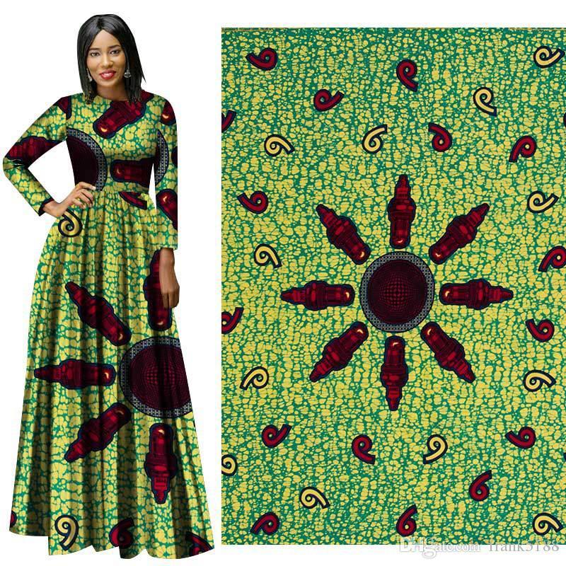 ankara african wax print fabric Good-Fabric Binta Real Wax High Quality African Fabric For Party Dress