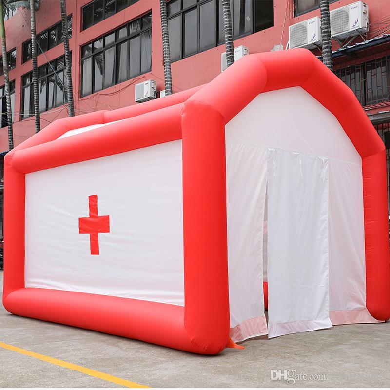 Новый Надувной Шатер Малайзия Открытый Надувной Дезинфекционный Канал Временный Медицинский Аварийный Шатер Надувной Шатер Для Продажи