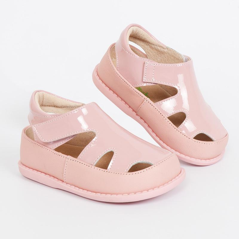 Tipsietoes 2018 100% Soft Leather In Summer New Girls Children Beach Shoes Kids Sport Sandals 21034 Free Shipping Sandali Y19061906
