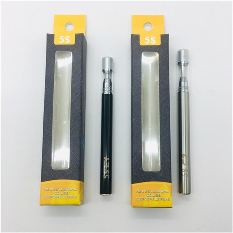 Vape Cartridges Ceramic Coil 5s C1 C2 Disposbale Vape Pens e cigarettes 510 Cartridge Vaporizer Pen 510 Vape Tanks Atomzier Kits