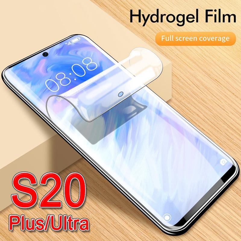экран protect s20 защитная крышка телефона для samsung s 20 plus ultra galaxy s20plus s20ultra case full cover мягкий гидрогель