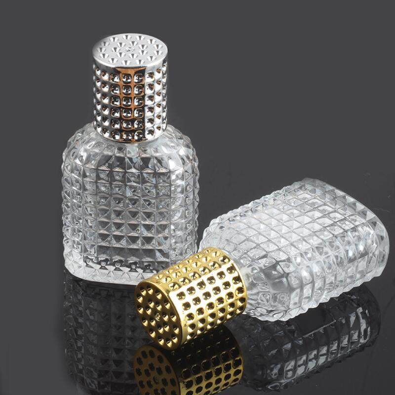 New Style abacaxi portátil Perfume garrafa de vidro com spray vazio atomizador recarregáveis garrafas de 30ml 50ml On Sale LX8934