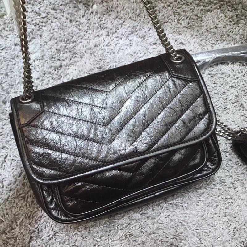 Designer borse di lusso Messenger Bag Fashion Sense estremamente forte texture morbida Hardware doppio - strato Ripostiglio Crossbody Borse