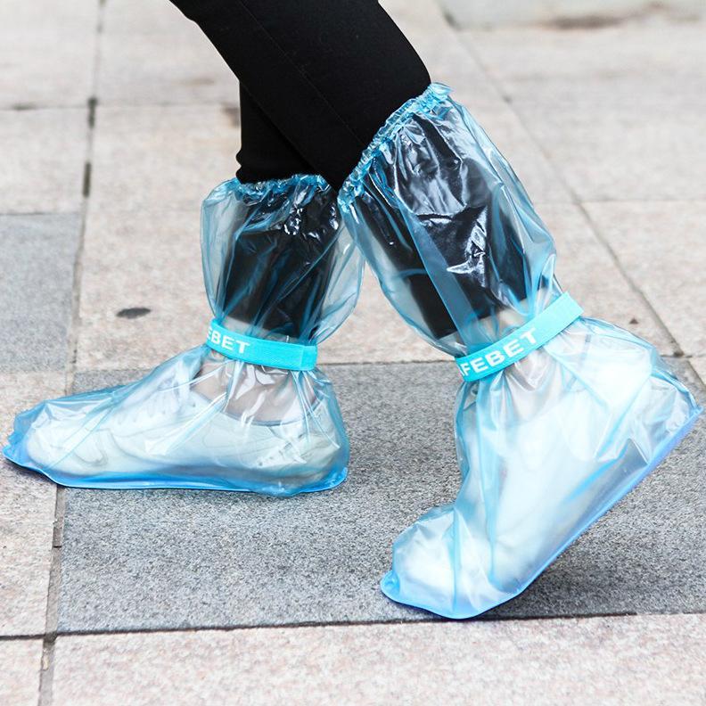 SAFEBET Дети Детей ПВХ многоразового дождь Обувь Загрузочная Обложка Anti-Slip водонепроницаемых Галоши Открытого Путешествие Водонепроницаемой дождь сапоги Set GH094