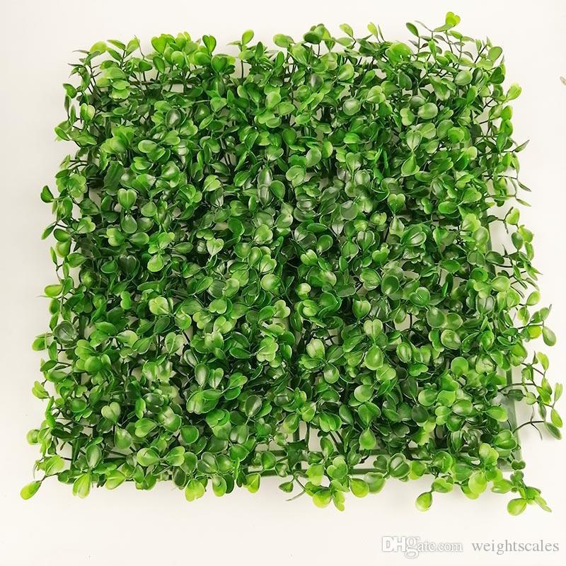 Suni çim plastik sahte çim çim 25 * 25 cm 30 adet