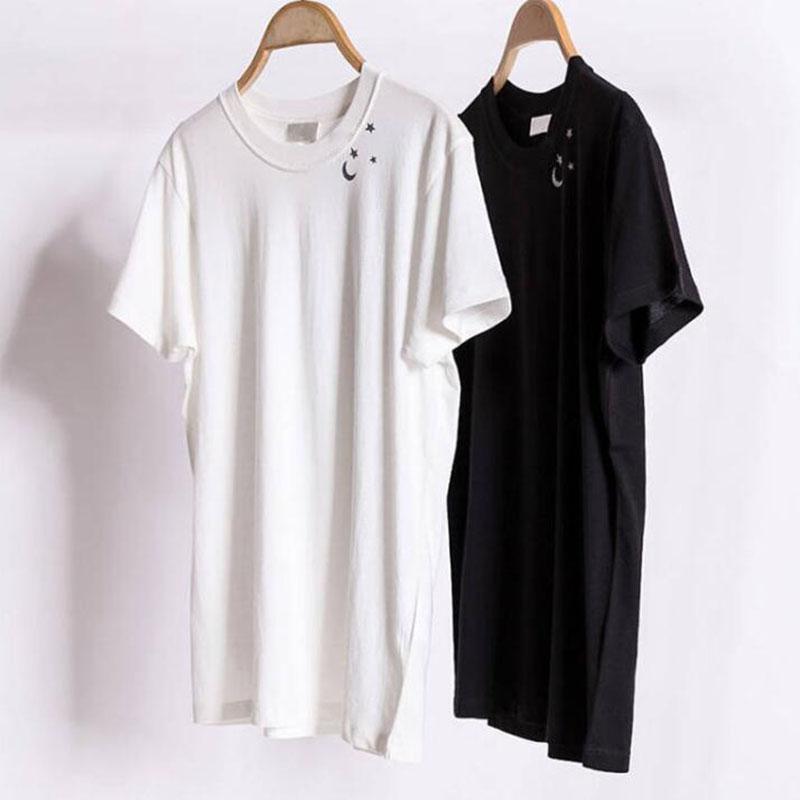 Hot T-shirt des hommes de conception de mode drôle d'impression Couples Hommes Femmes T-shirt décontracté design noir blanc Chemises