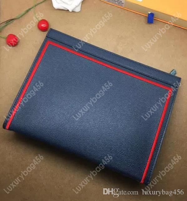 Топ водонепроницаемый холст кошелек кожаная сумка звезда с тем же клатчем косметичка уникальный дизайн M63397
