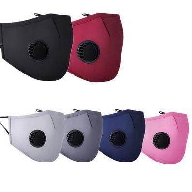 PM2.5 Cotton Máscara poeira e Smog máscara protetora máscara de respiração válvula pode ser inserido Filtro Verão EEA1759