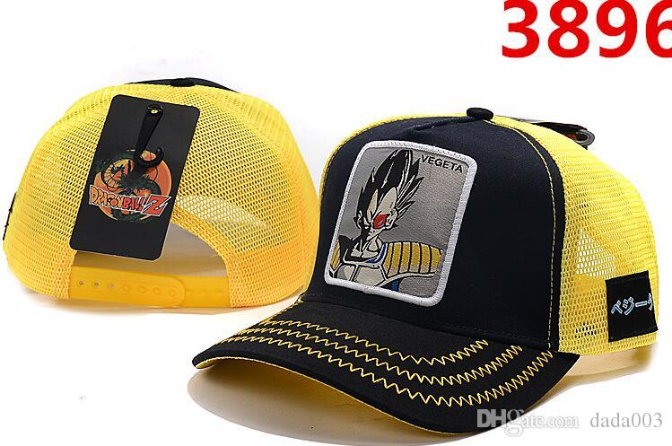 2019 new Ball hats luxury designer baseball Caps anime character pictures High quality adjustable baseball cap Men and women cap Student hat