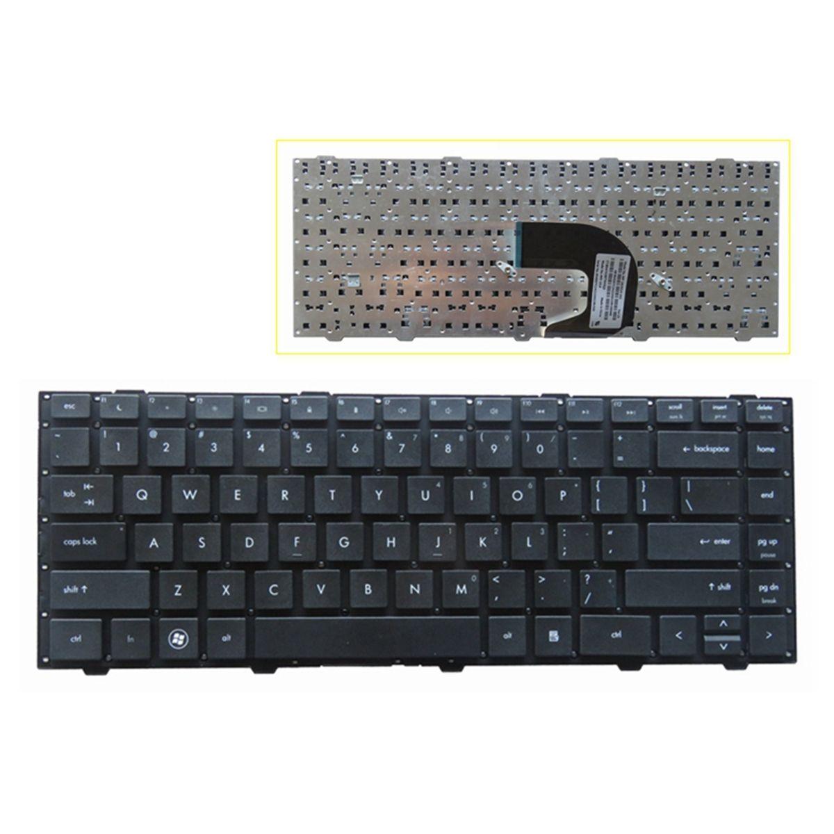 HP 프로 북 4446s 4440s 4441s 4445s 시리즈 키보드 블랙 US 없음 프레임 미국 레이아웃 수리 키보드에 노트북 Keyobard 교체