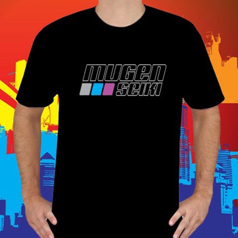 Новый Mugen Seiki RC Hobby Логотип Мужская Черная футболка Размер S в 3XL