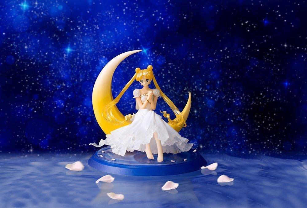 13 سنتيمتر شهر القمر البرية سيدة غاغا فستان الزفاف عمل الشكل الكرتون نموذج لعبة السلع Y19062901