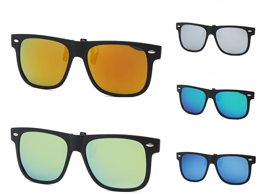 Neff TR90 Sunglasee Erkek Kadın UV400 Büyük Çerçeve Kaplama Güneş Gözlükleri 2 Mercek Feminino Gözlük Unisex # 58141