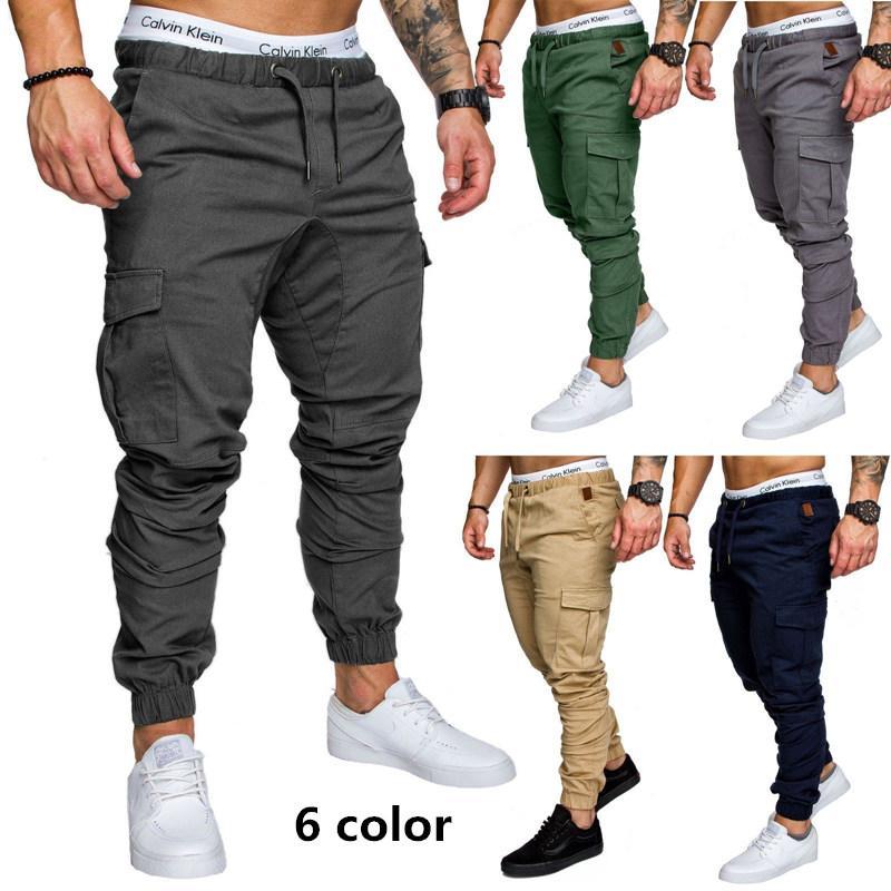 2021 Brand Men Pants Hip Hop Harem Joggers Pants Male Trousers Mens Joggers Solid Classic Khaki Multi Pocket Pants Sweatpants 3xl Drop Shipping From Netecool 10 69 Dhgate Com
