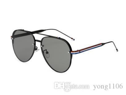 Gafas de sol modernas y atractivas de color para hombres y mujeres. Gafas de sol con montura moderna.