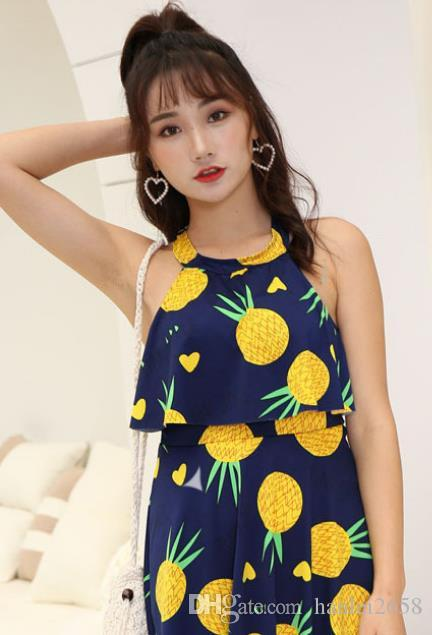 2019 new swimwear female conservative cute girl was thin covered belly skirt style one-piece sexy Korean hot spring swimsuit sexy affordable