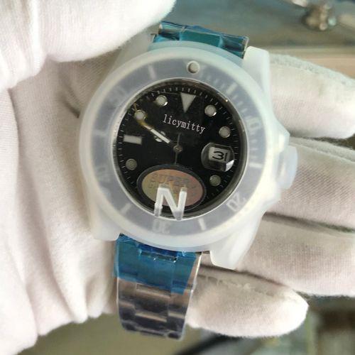 2020 New Mens Watches Top V3 Version ETA 2813 Wristwatch 50M Waterproof Sapphire Ceramic Bezel Glide Lock Stainless Steel ST9 Solid Clasp