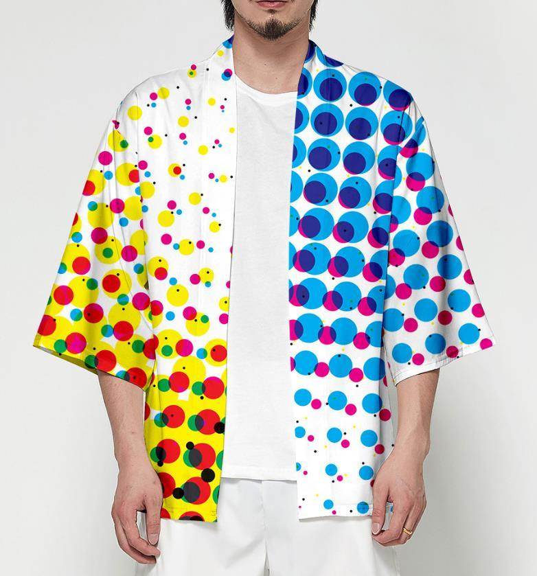 Camicie da uomo multicolore di alta qualità di modo T-shirt maniche corte uomo Camicie Casual