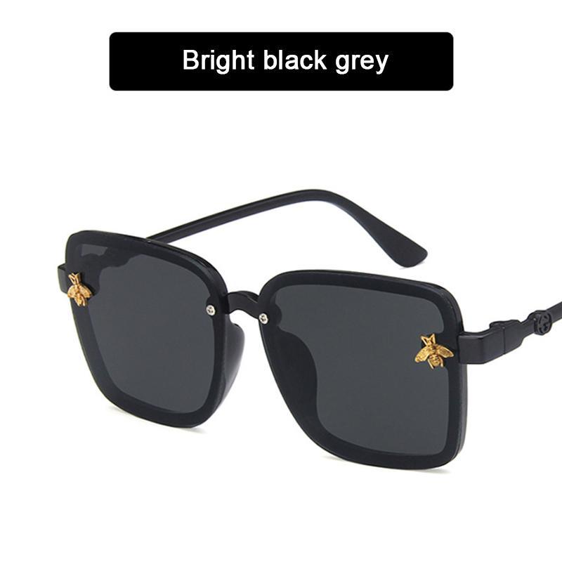 Карниз Детские солнцезащитные очки Прохладный Square Cute Kids Солнцезащитные очки прозрачные Eyeglasses zonnebril Gafas игрушки óculos Okulary