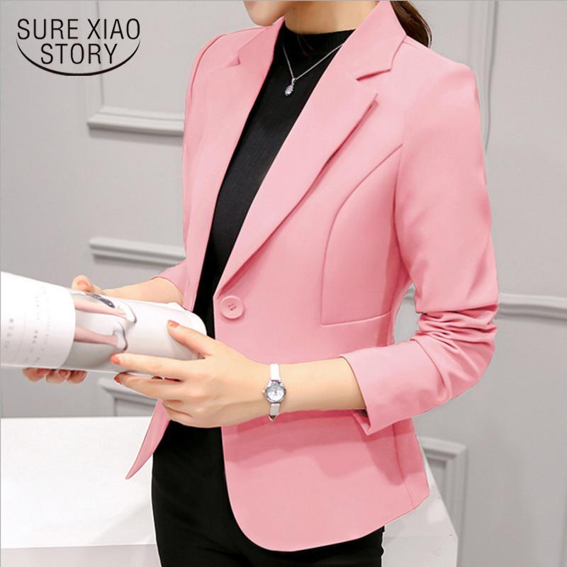 Женские куртки Abrigos Mujer Invierno 2021 с длинным рукавом куртка женщин-кардиган формальный тонкий офисный рабочая сила пальто женские1340 90