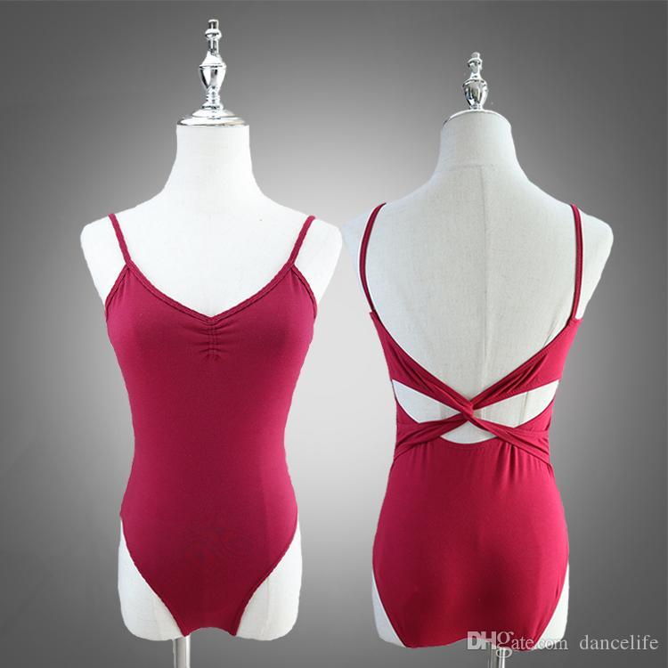 Großhandel Tanz Trikots Sexy Frauen Ballett Dancewear A2062