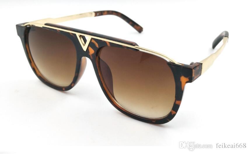 Mens Womens Marka Güneş Gözlüğü Kanıt 0937 Güneş gözlükleri Tasarımcı Siyah Çerçeve Gözlük Milyoner Gözlük marka kanıtı