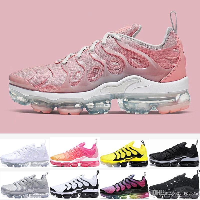 Nuevos llegan Xamropav Plus Hombres Mujeres Running Shoes Diseñador Triple blanco y negro abejorro psíquico rosa fresca Gre EE.UU. Trainer