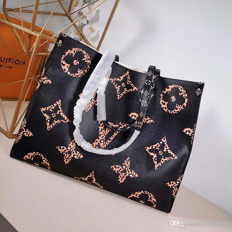 2020 новая роскошная дизайнерская сумочка из кожи и холста роскошная дизайнерская сумочка с модным принтом M44571 X125