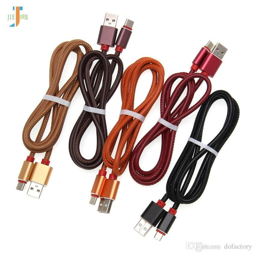 USB-кабель типа C для Huawei Mate 20 Pro Honor 10 USB-кабель для телефона Зарядное устройство Samsung S9 S8 Mi 9 Redmi Note 7 500 шт. / Лот