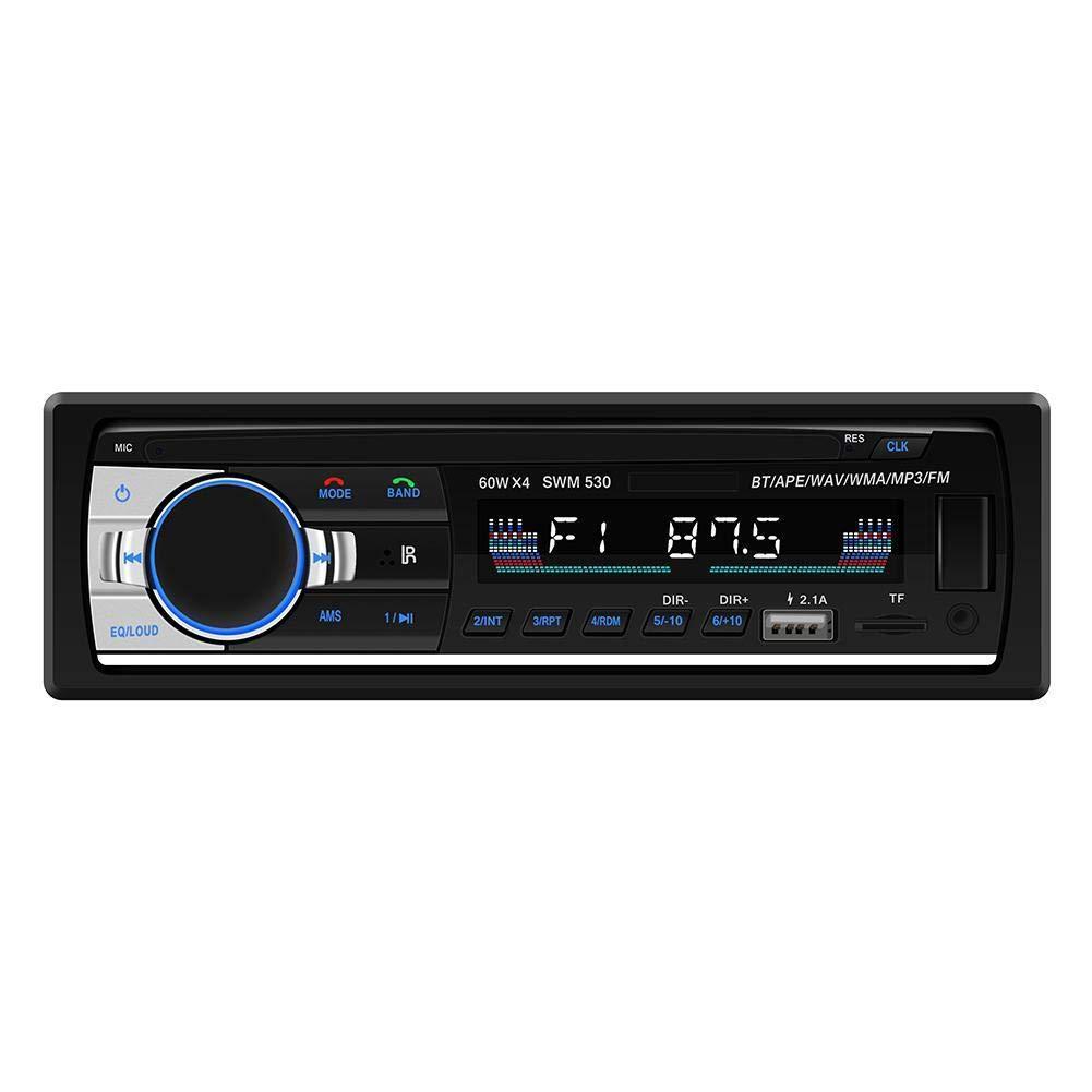 SWM-530 autoradio عالية الوضوح العالمي مزدوج الدين lcd سيارة ستيريو ستيريو الوسائط المتعددة بلوتوث 4.0 سيارة مشغل موسيقى mp3 راديو fm المزدوج usb aux