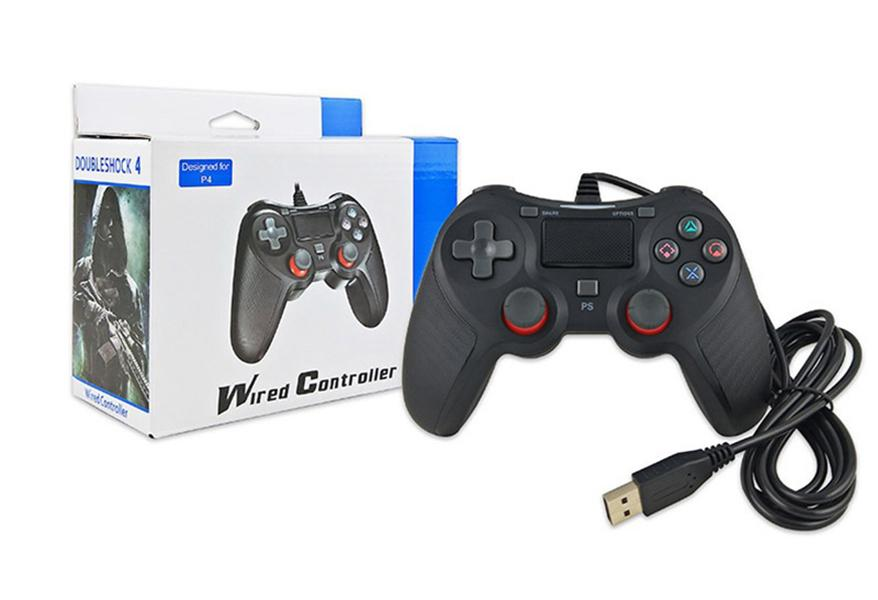 OEM Global hot SHOCK 4 games Controller TOP quality Gamepad for PS4 Joystick with Retail package Game Controller free shipping