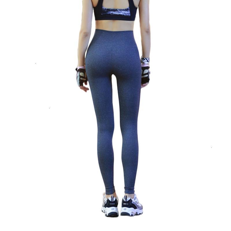 Polainas elástico de las mujeres de fitness sin fisuras de alta Deportivas Mujer pantalones de cintura alta Jeggings Empuje Pantalones de entrenamiento Hasta Leggins Mujer