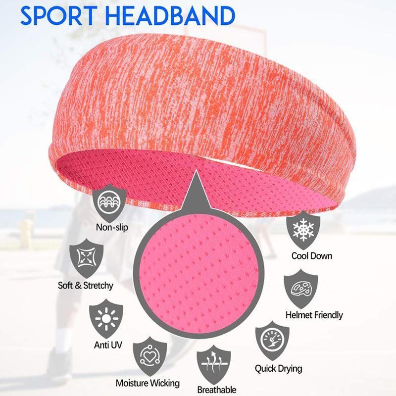 Yoga-Haar-Band-Designer Stirnband Accessoires für Frauen Sport Frauen Laufsport-Haar-Band-Stirnband-Haar-Band Sport Female spielen