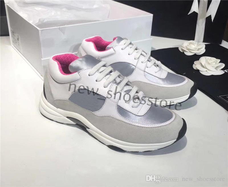 Großhandel 2019 Sommer Mode Designer Plattform Schuhe Klassische Frauen Casual Party Kleider Schuhe Turnschuhe Chaussures De Marque Femmes Von