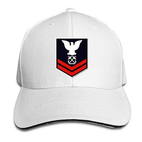 Donanma Boatswains Mate İkinci Sınıf Beyzbol Şapkası Ayarlanabilir Çatılı Sandviç Şapka Unisexe Erkekler Kadınlar Beyzbol Spor Outdoor Strapbacks şapka