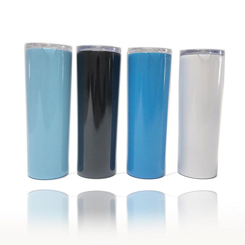 Gut Qualität 20 Unzen Vacuum Insulated Double Wall Edelstahl Tumbler WithPlastic Deckel und Stroh Anzug F