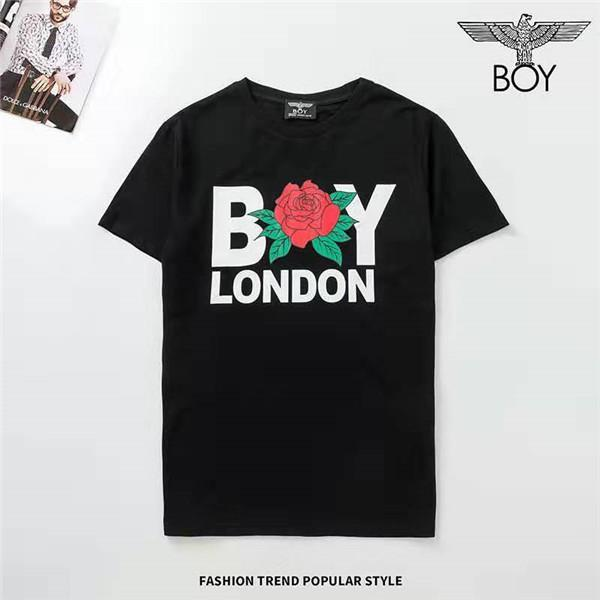 2020 T-shirt Fashion Design T-shirt modello Barr uomini di modo popolare delle donne degli uomini di stampa di Hip Hop a maniche corte di lusso Tee Size M-