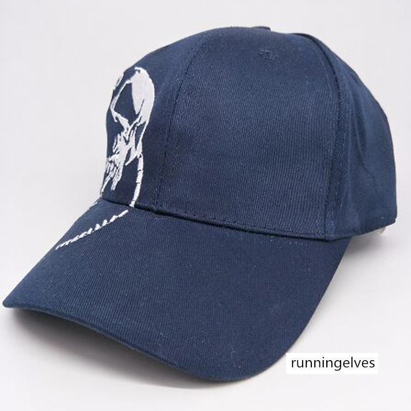 casquette de baseball de coton chapeau brodé de haute qualité squelette extérieur hip-hop chapeau de sport pour hommes chapeau et des femmes