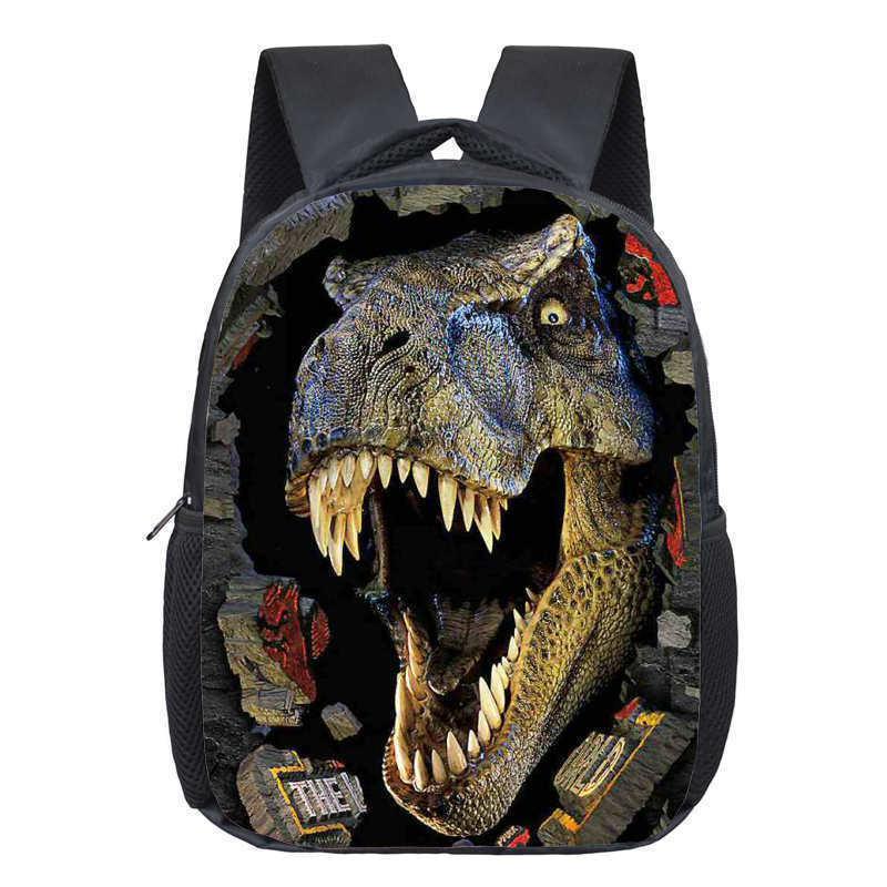 Dinosaur Magic Dragon Backpack for Kids Animals Children Schoolbags Boys Girls School Bags Kindergarten Backpack Book Bag Y190601