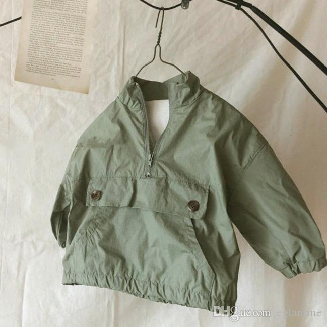 Herbst-Kleinkind-Kinder Jacketscoats koreanische Art und Weise Clothings Kleidung