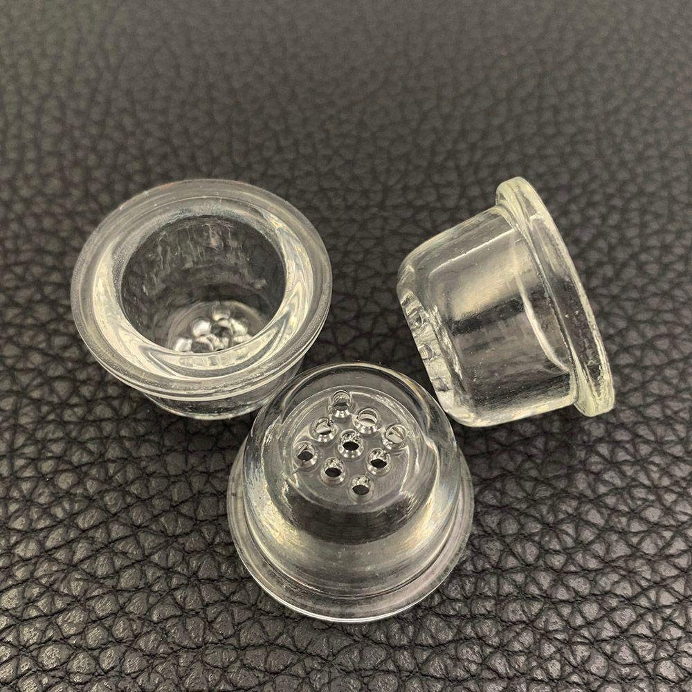 Substituição de tela Glass Bowl para o prato Silicone Tubo Honeycomb Vidro para colher tubulação de alta de vidro de borosilicato malha bacia Acessórios fumadores