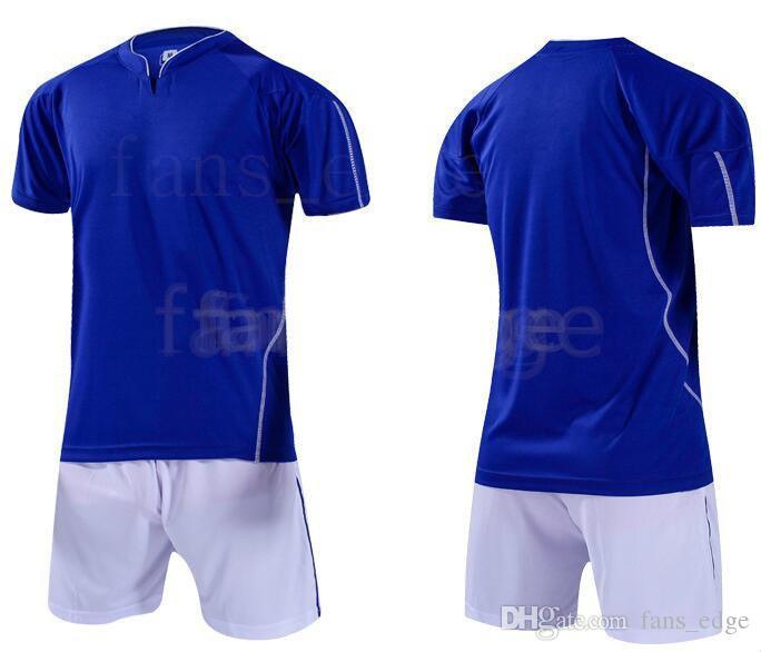 Top Kundenspezifische Fußballjerseys Freies Verschiffen-billig Großhandelsdiskont irgendein Name Jede Zahl anpassen Fußball Shirt Größe S-XXL 1006