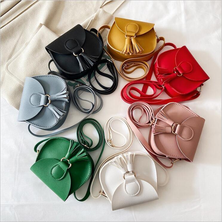 Baby Mini Bossel Bags Meninas Designer Cross Body Bags Princesa Bolsas De Ombro Criança Saco De Sacha Bolsa Moda Mensageiro Totes B7512